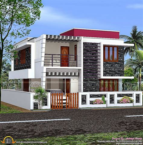 house plan unique south indian model house plan south