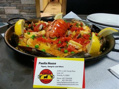 Paella House by Paella Picture Of Paella House Orlando Tripadvisor