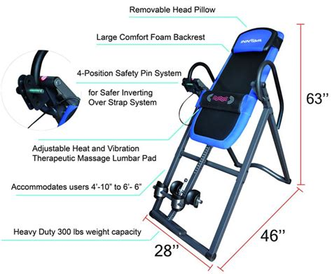 Comparison Which Inversion Table Is Best For You Inversion Table Risks