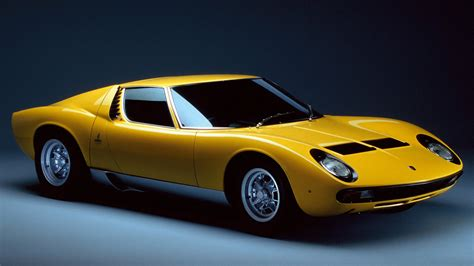 Where Does The Lamborghini Come From Come June Italy Will Witness Lamborghini Miura Classic