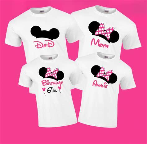 Disney Shirt by Disney Birthday Family Vacation T Shirts The