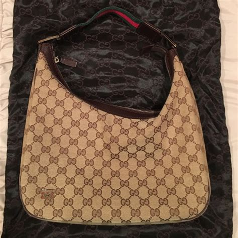 gucci handbags gg hobo monogram greenred stripe