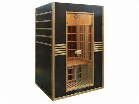 cabine de sauna cabine de sauna infrarouge quot oslo quot 2 places 120 x 105 x 190 cm 60880
