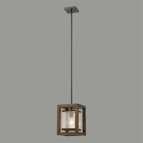 World Market Pendant Light Wood And Metal Mission Pendant L World Market