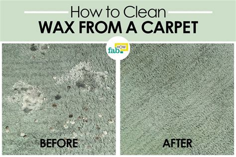 how to remove wax from a rug how to remove candle wax from carpet fast and easy fab how