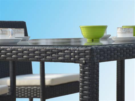 ensemble table avec chaises de jardin en r 233 sine