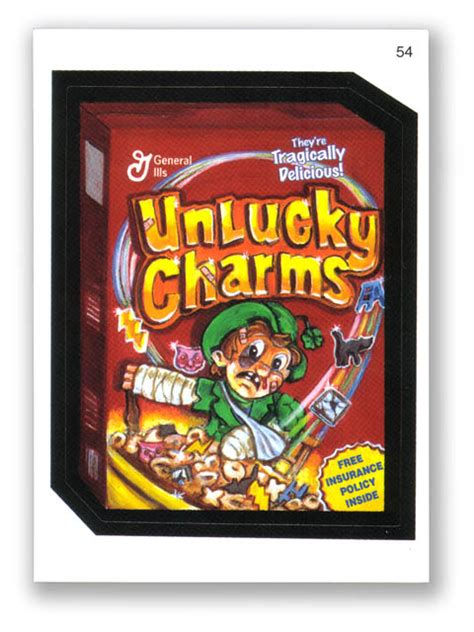 lucky charms real product for wacky packages unlucky charms