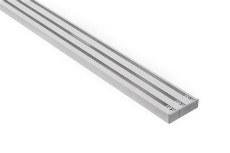 gardinenschiene zweilaufig alu vorhangschiene aluminium riano 3 l 228 ufig m10116