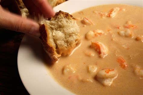 shrimp bisque recipe dishmaps