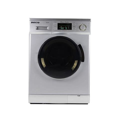 Home Depot Washers And Dryers by Deco All In One 1 6 Cu Ft Compact Combo Washer And