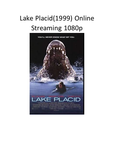 film komedi live stream lake placid 1999 online streaming 1080p film komedi action