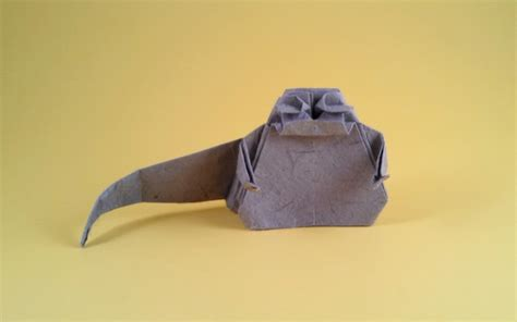 Origami Jabba The Puppet - jabba the hut chris gilad s origami page
