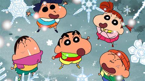 crayon shin chan  friends cartoon wallpapers hd