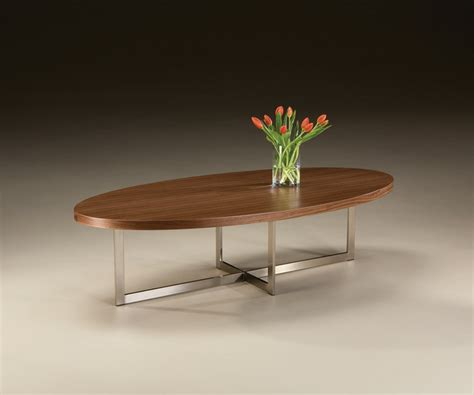 export oval cocktail table from thayer coggin modern