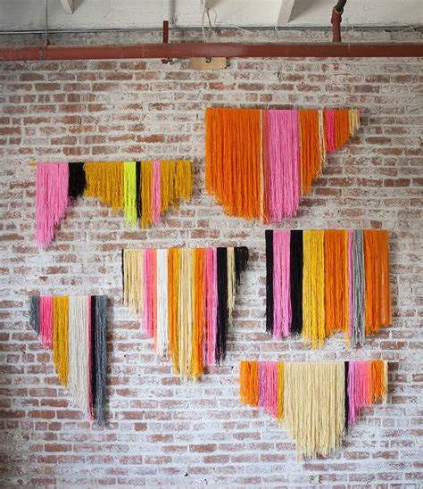 hanging craft projects 20 woven wall hangings to inspire buy or diy design sponge