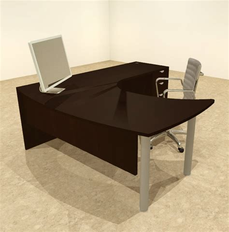 Modern L Shaped Office Desk 3pc L Shaped Modern Contemporary Executive Office Desk Set Of Con L15 Ebay