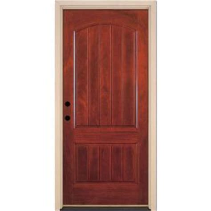 Home Depot Prehung Exterior Door by Feather River Doors 37 5 In X 81 625 In 2 Panel Plank