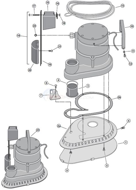 sta rite diagram sta rite submersible pool service parts inyopools