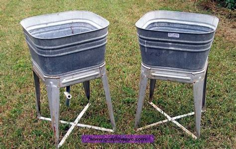 galvanized laundry sink with stand wash tub on stand galvanized wash tubs on stand no