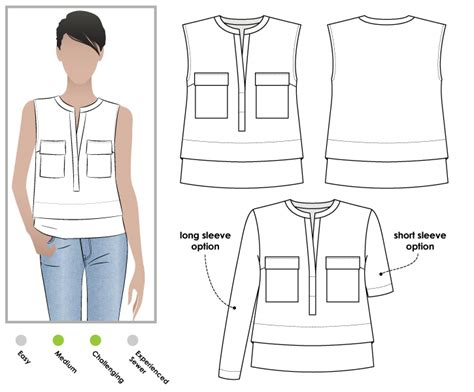 pattern review style arc stylearc edith top