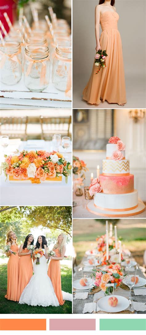 hot colors for 2017 25 hot wedding color combination ideas 2016 2017 and bridesmaid dresses trends to rock your big