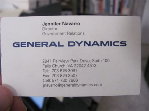 general dynamics business card oxynuxorg