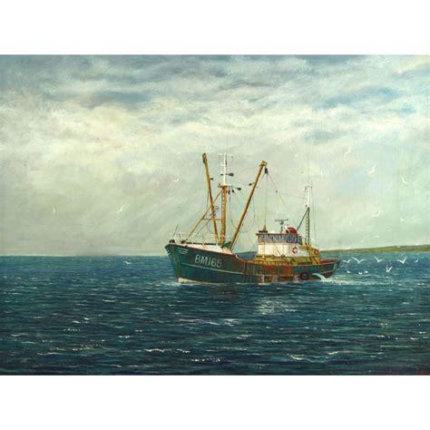 ebay boats devon beam trawler fishing boat bm165 marrtje brixham oil