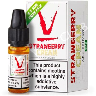 Convict By Verdict Vapors Premium Usa strawberry eliquid by verdict vapors uk eliquid shop