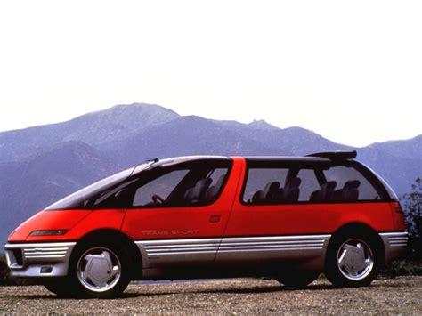 pontiac sports pontiac trans sport concept 1986 old concept cars