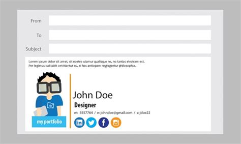 design free email signature 28 best email signature generators tools online makers