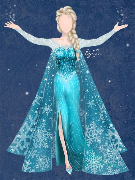 Frozen Elsa Silk Pink Dress elsa dresses elsa s dress disney s frozen by gabriellayoo elsa s gown elsa