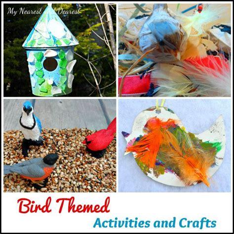 bird activities and crafts for children