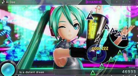 Ps4 Hatsune Miku Project X hatsune miku project x gets rhythm trailer i play