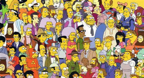 imagenes historicas de los simpsons 60 im 225 genes de los simpsons y sus personajes secundarios
