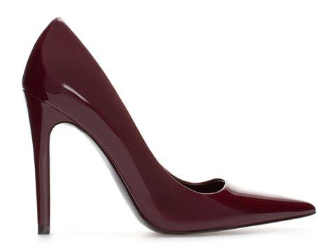 patent high heel zara court shoes high heels daily