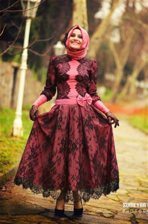 Baju Terusan Stripes Black 45 gambar model kebaya muslim modern dan terbaru ayeey