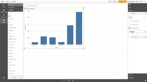 qlik sense expressions tutorial changing the sorting of a visualization using expressions