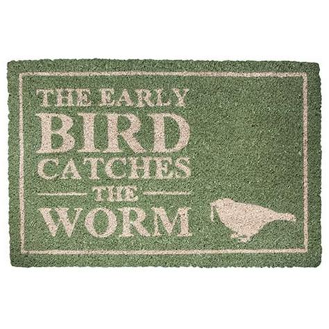 high quality bright real coconut coir thick doormats