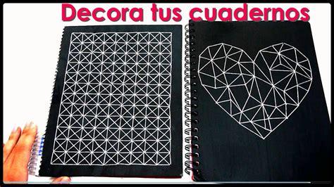 decorar cuadernos diy diy c 243 mo decorar tus cuadernos yami diy pinterest