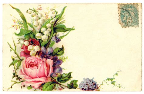 free floral images vintage flower border cliparts co