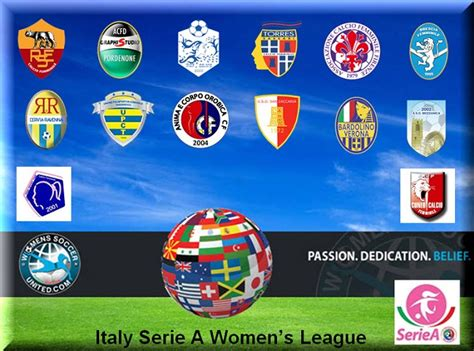 serie a league italy serie a femminile league match results 14th march 2015