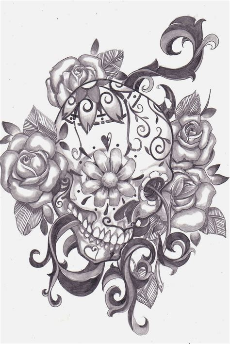 free skull tattoo designs to print tattoos book 2510 free printable stencils skulls