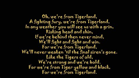 theme songs afl richmond theme song with lyrics youtube