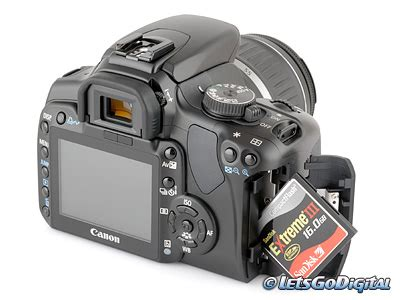 Dslr Canon Eos 400d canon eos 400d digital review storage and energy