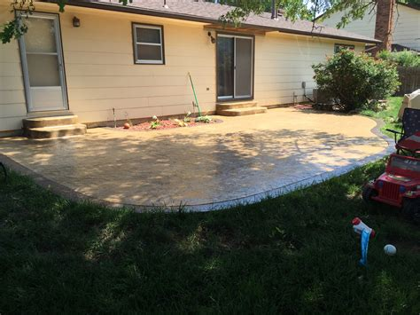 sted concrete backyard sted concrete patios pictures patio pavers wichita ks 28 images patio pavers patio