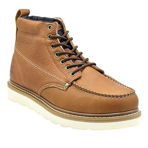 mens construction work boots king rocks s moc toe construction work boots the