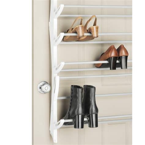 Shoe Rack Door by Whitmor 36 Pair The Door Shoe Rack White Target