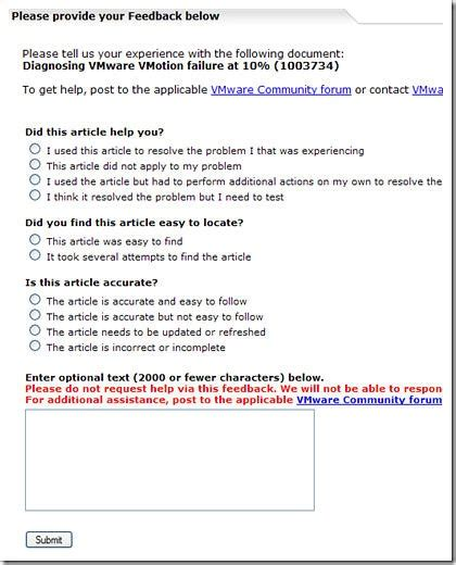 Rating Knowledge Base Articles Support Insider Vmware Blogs Knowledge Base Article Template