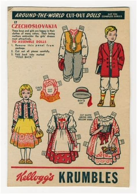 printable paper dolls from around the world kelloggs around the world paper dolls 1 of 4 paper