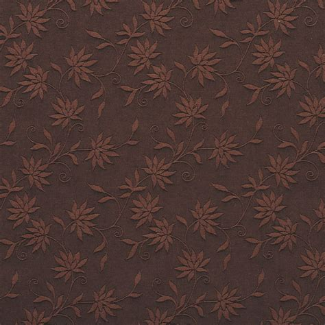 Upholstery Fabric Shops by Brown Floral Linen Look Upholstery Fabric By The Yard